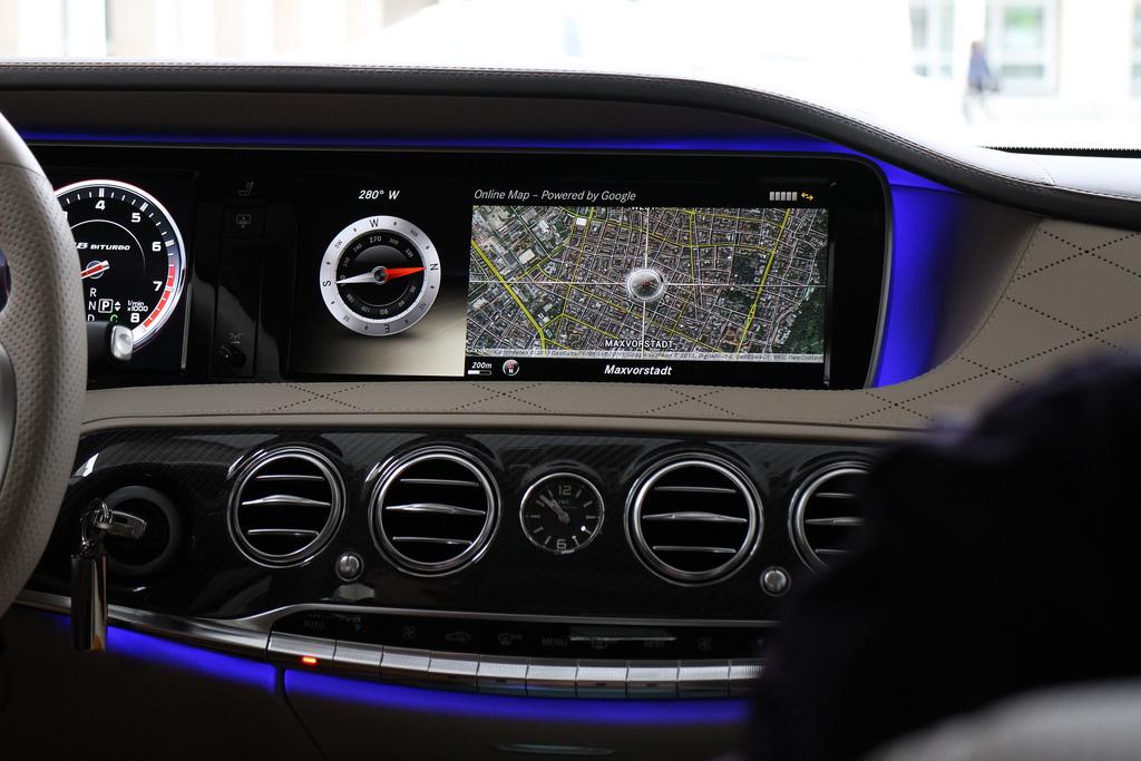 Daimler S-Klasse Innenraum / Foto:RobGreen/flickr.com